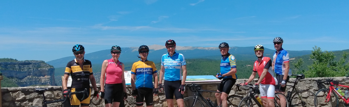 Wheelers' trip to Mont Ventoux